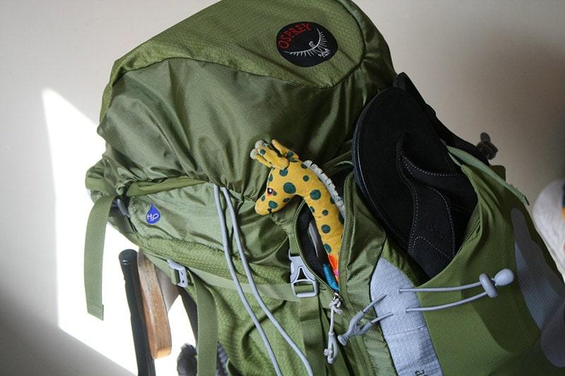borsone viaggio verde